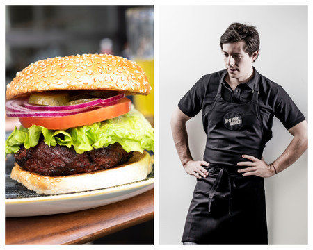 La Hamburguesa Nyb De New York Burger Y El Chef Pablo Colmenares C New York Burger
