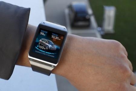 Samsung Galaxy Gear para comprobar la autonomía del BMW i3