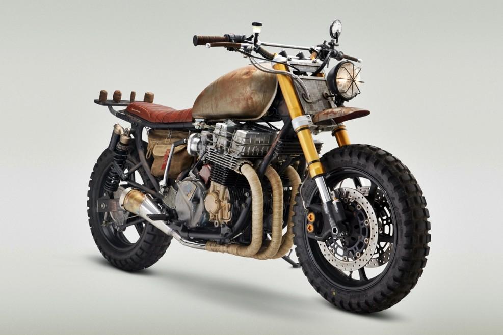La moto de Daryl en The Walking Dead