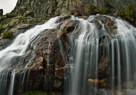 Chorrera de Los Litueros (Arroyo del Caño) en Somosierra