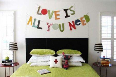 Hazlo tu mismo: frases y mensajes decorando la pared