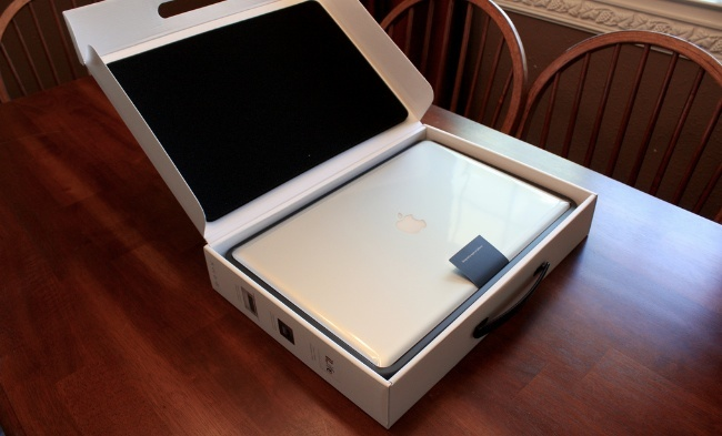 macbook pro caja