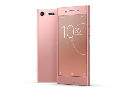 El Xperia XZ Premium en color rosa bronce estará disponible en junio