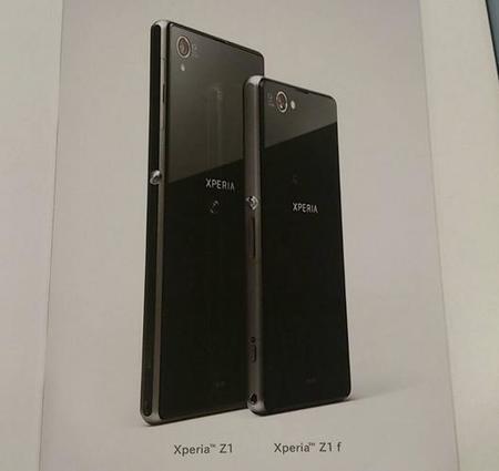 Sony Xperia Z1 f será la versión mini del Xperia Z1.