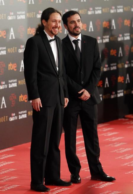 Los políticos no se quisieron perder la Gala de los Goya 2016, aunque todos suspendieron
