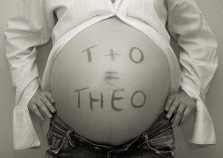 foto de embarazada