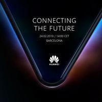 Es oficial: Huawei tiene listo su primer smartphone plegable y lo conoceremos el 24 de febrero durante el MWC 2019