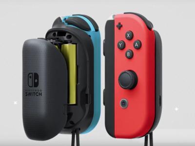 Este verano podrás recargar tus Joy-Cons  con el nuevo cargador oficial a pilas de Nintendo
