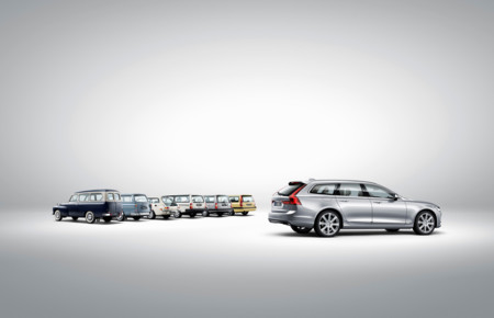 173848 Volvo V90 And A Historical Line Up Of Volvo Estate Models