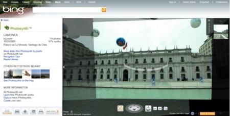 PhotoSynth en Bing Maps