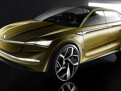 Así se avanza el Škoda Vision E, un futuro eléctrico checo con 300 CV y 500 km de autonomía