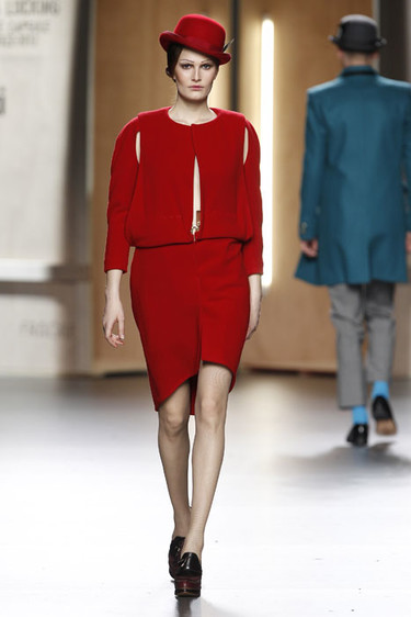 Ana Locking Otoño-Invierno 2012/2013: minimalismo y geometría