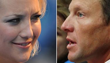 Kate Hudson y Lance Armstrong están juntos