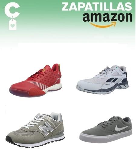 Chollos en tallas sueltas de  zapatillas Nike, Reebok, New Balance o Adidas en Amazon