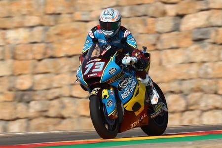 Álex Márquez se lleva la pole position de Moto2 en MotorLand por delante Augusto Fernández