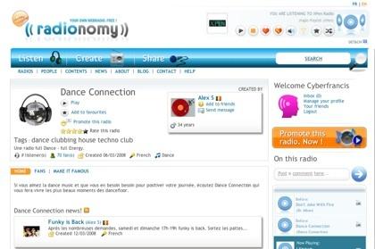 Radionomy, crea tu webradio