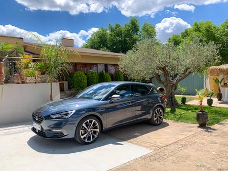 SEAT León 2020 Prueba Contacto frontal lateral
