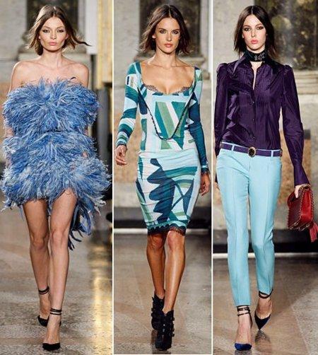 Emilio Pucci azul tendencia