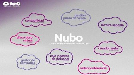 ONO lanza Nubo, su servicio de aplicaciones en la nube para pymes