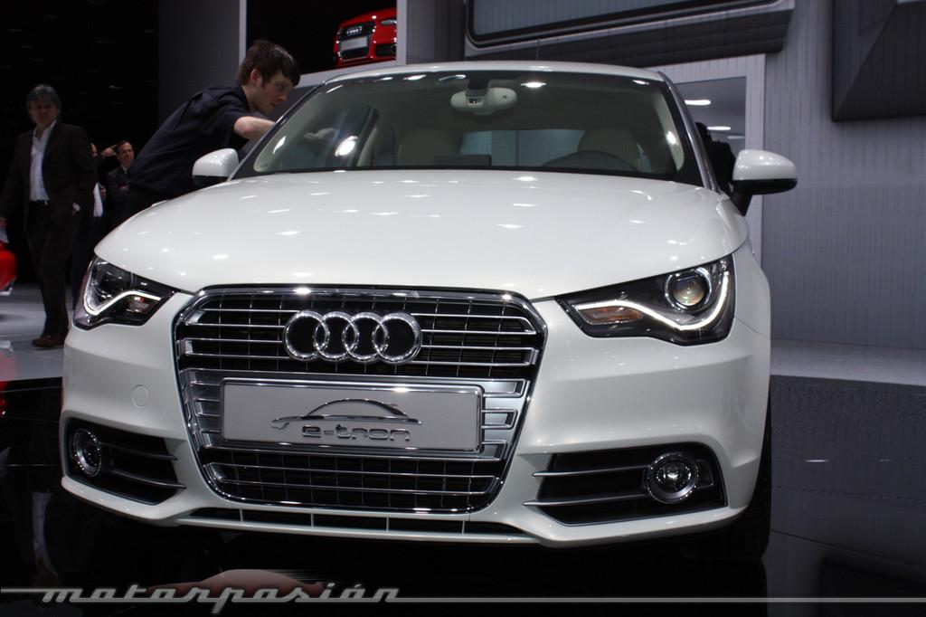 Foto de Audi A1 y A8 híbridos en el Salón de Ginebra (10/18)