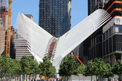 Visitamos el Óculus de Calatrava y el Memorial 11-S en la Zona Cero de Nueva York