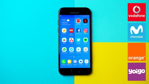 Samsung Galaxy A3 (2017) con pago a plazos Vodafone y Orange: comparamos precios definitivos con Movistar y Yoigo