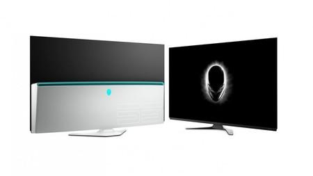 55 pulgadas OLED con resolución 4K a 120 Hz, así es el nuevo enorme monitor gaming de Alienware