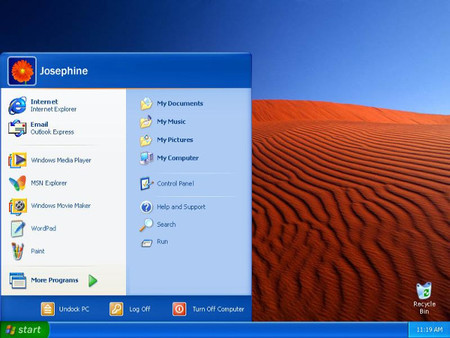 El tema Luna en Windows XP