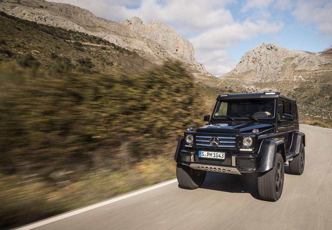 Foto de Mercedes-Benz G 500 4x4², toma de contacto (107/127)