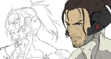 Qué buena pinta tiene el arte conceptual de Samuel, uno de los malos de 'Metal Gear Rising: Revengeance'