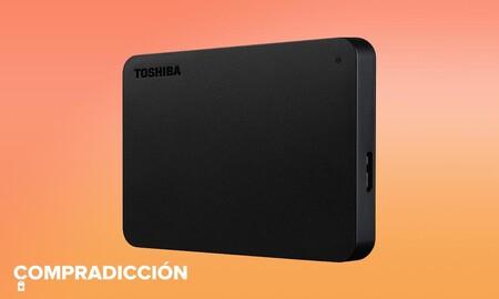 El TB de capacidad del Toshiba Canvio Basics vuelve a estar a precio de saldo: Amazon lo tiene por 40 euros