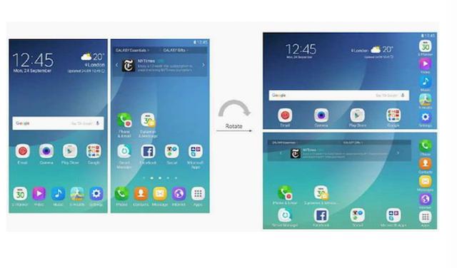 Galaxy X Interface Screenshots 2