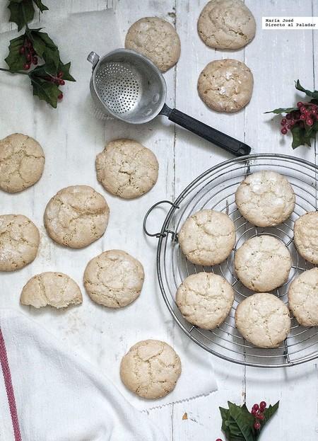 Amaretti. Receta de galletas italianas con Thermomix para regalar en Navidad