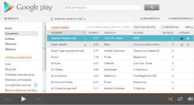 Google Play Music en España, así funciona el servicio para tener tu música online
