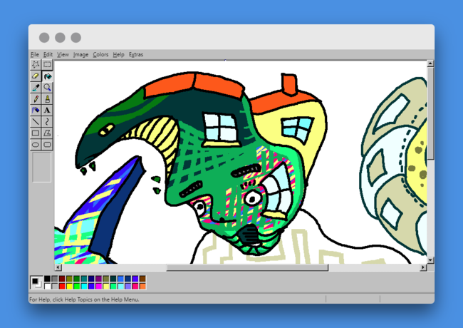 Revivir la nostalgia del viejo MS Paint ya es posible desde cualquier navegador