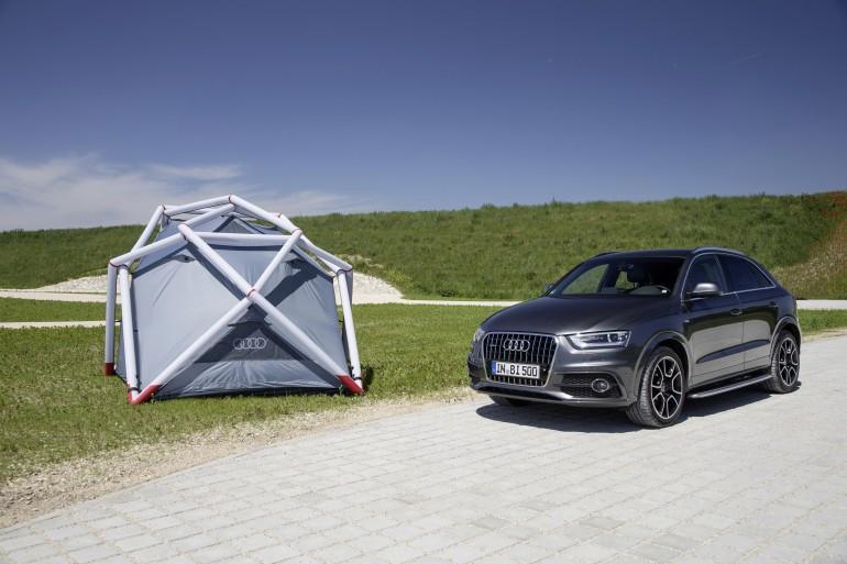 Foto de Tienda de campaña para Audi Q3 (8/12)