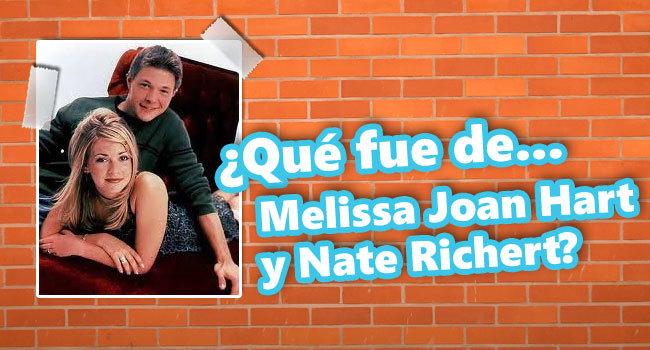 Que Fue De Melissa Joan Hart Y Nate Richert Novio de 'sabrina la bruja adolescente' está irreconocible. melissa joan hart y nate richert