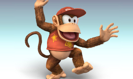Diddy Kong en Super Smash Bros. Brawl