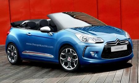 Citroën DS3 Convertible, ¿novedad en el Salón de París?