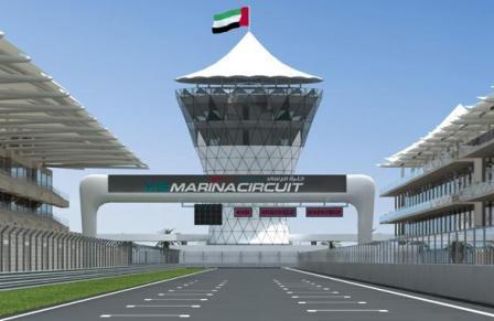 El circuito de Abu Dhabi se homologará en julio