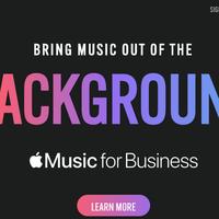 Llega 'Apple Music for Business' para que tiendas y empresas puedan reproducir contenido del servicio
