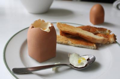 El huevo modificado genéticamente
