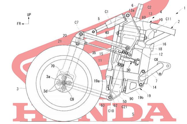 ¿Honda está preparando un triciclo con capacidad de inclinación para competir contra la Yamaha Niken?