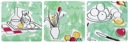 El arte de Cézanne en tu cocina. Posavasos