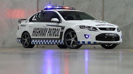 Ford Falcon GT, un interceptor policial que da miedo