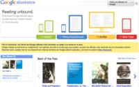 Google eBooks es la tienda de libros electrónicos de Google