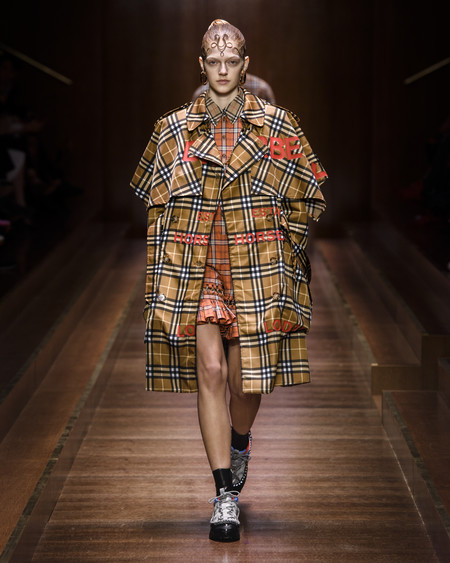 Burberry Autumn Winter 2019 Collection Look 14