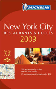 Guía Michelin 2009 de Nueva York ya está disponible