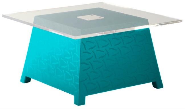 mesas de centro colores alegres