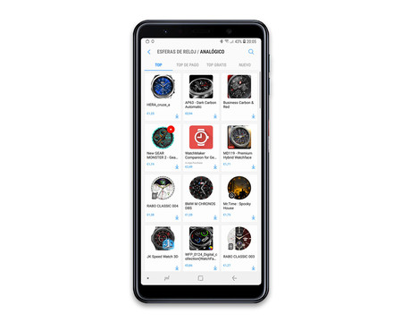 Samsung Galaxy Watch App Android Esferas